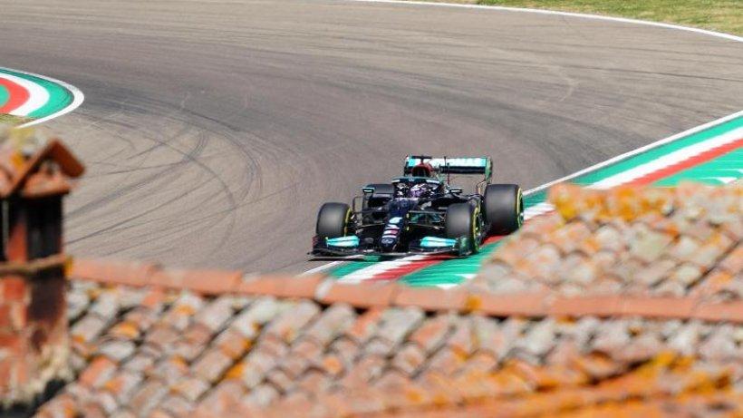 Hamilton schnappt sich Imola-Pole vor Perez