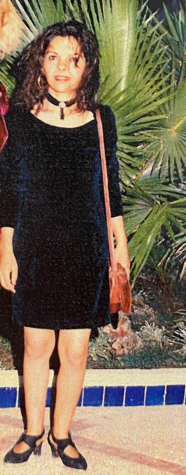 Diese Aufnahme von Zakia Mansour entstand kurz vor ihrem Tod.