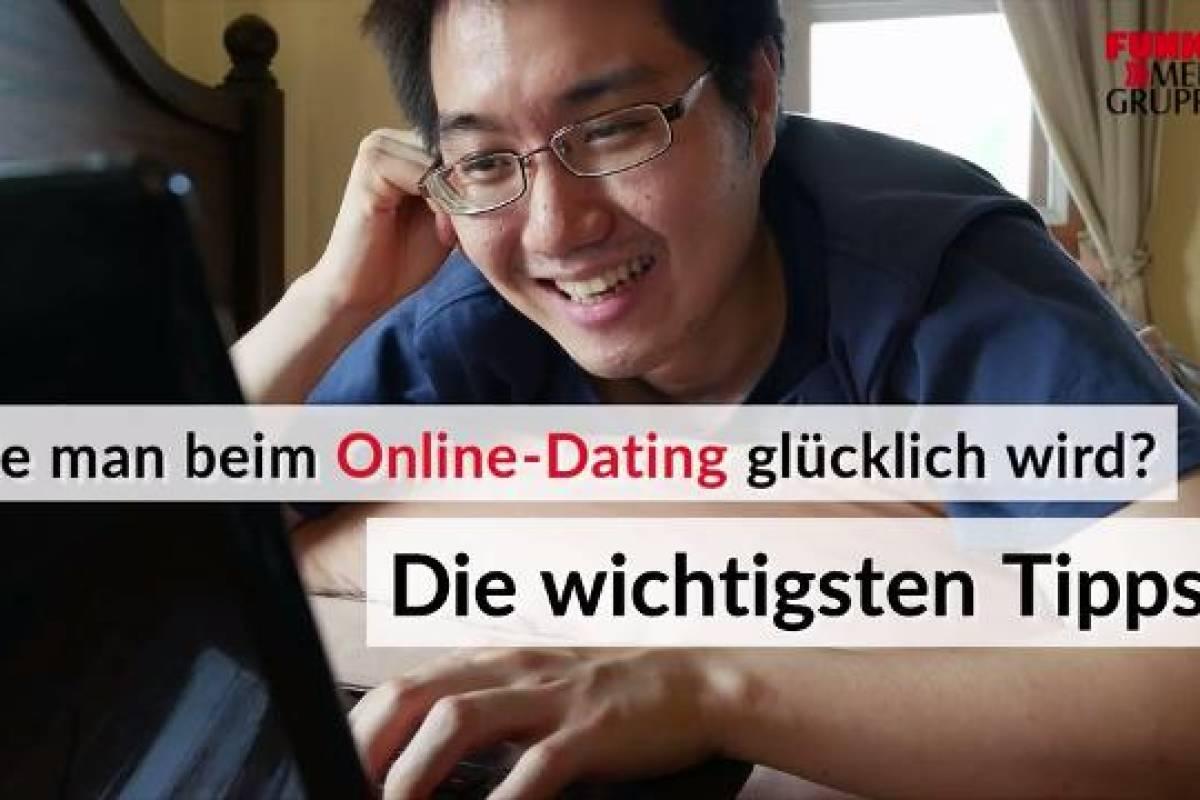 Nachrichtenbericht über Online-Dating