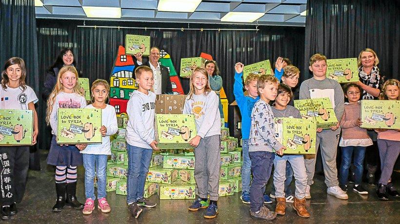 Junge Hornburger beschenken Kinder im Kriegsgebiet